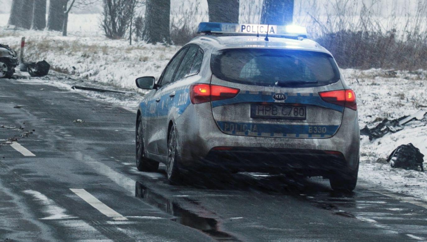 Kierowcom grozi do 500 zł mandatu i pięć punktów karnych (fot. PAP/Aleksander Koźmiński, zdjęcie ilustracyjne)