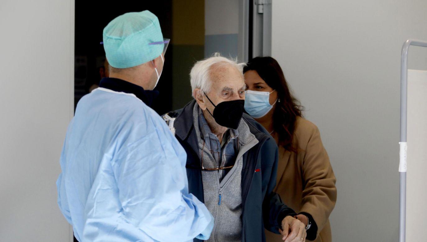 Sytuacja epidemiczna we Włoszech (fot. PAP)