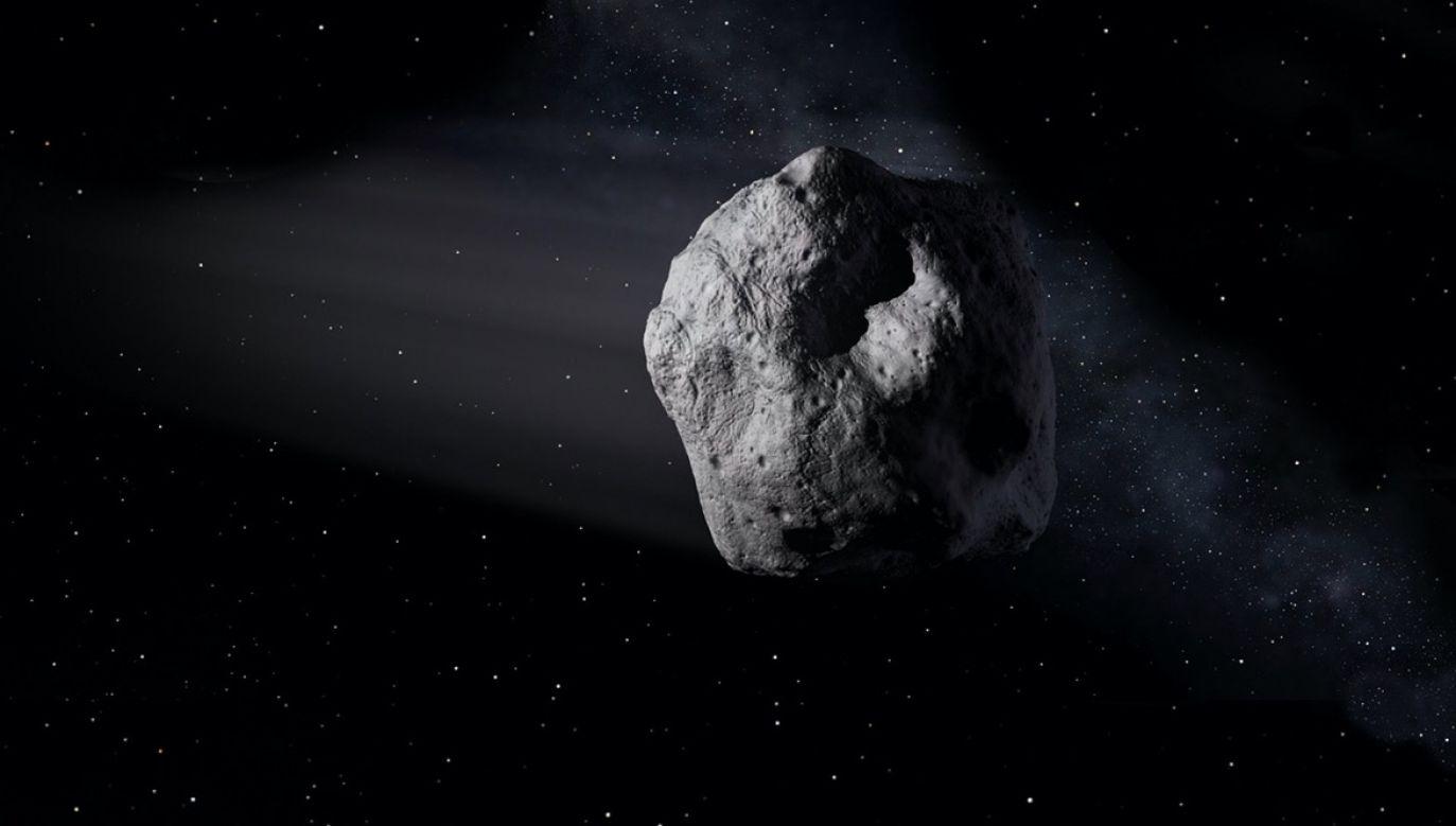 Astronomowie z Mount Lemmon Survey wykryli asteroidę 2020 SW 18 września (fot. NASA/JPL-Caltech)