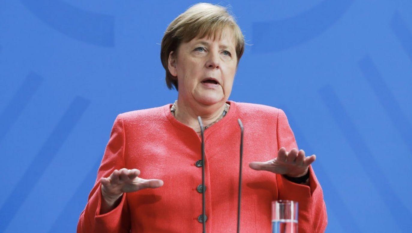 Rząd Angeli Merkel rozważa nakłonienie krajów UE do zastosowania wspólnych retorsji wobec USA (fot. Christian Marquardt-Pool/Getty Images)