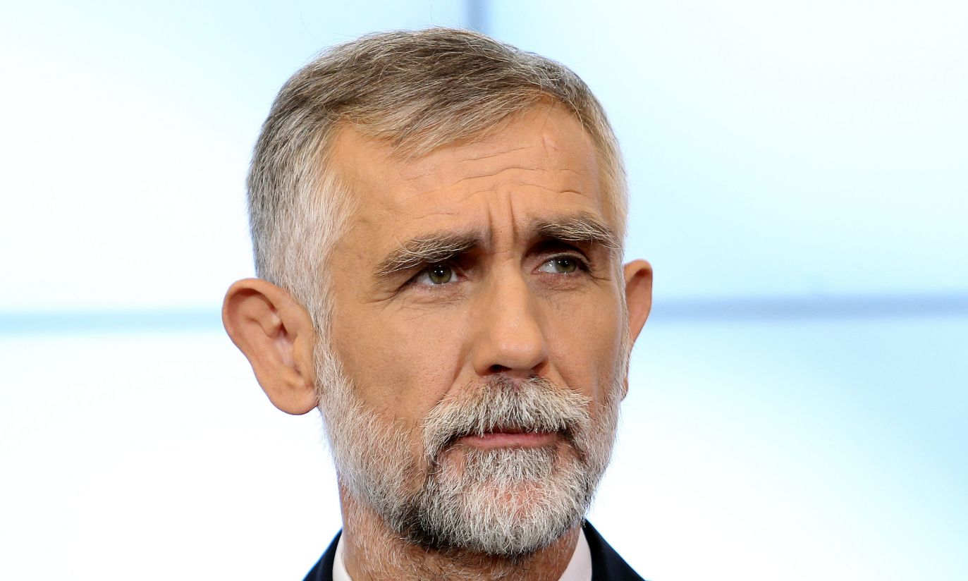 Maciej Grabowski, dotychczasowy podsekretarz stanu w Ministerstwie Finansów nowym ministrem środowiska (fot. PAP/Radek Piet