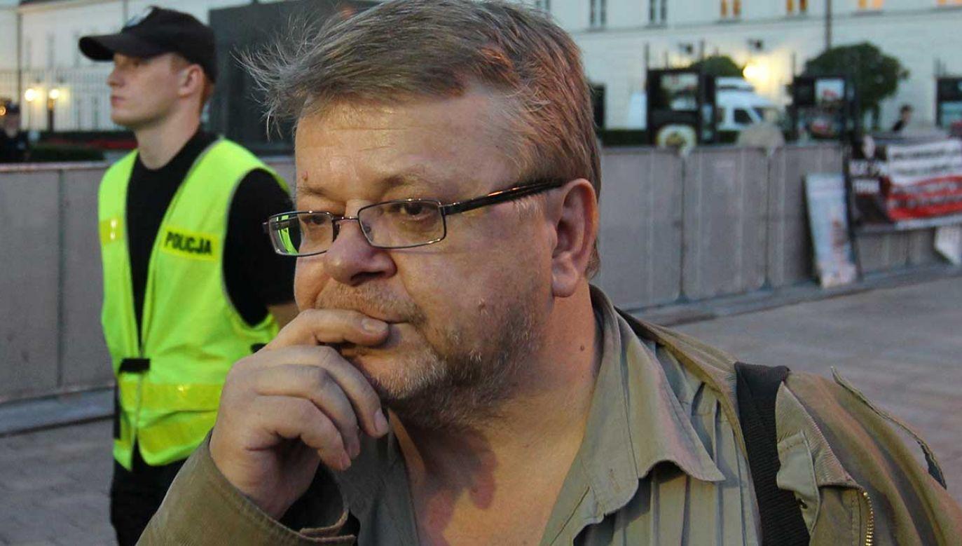 Kandydat na senatora Leszek Bubel zatrzymany przez policję  (fot. arch. PAP/Radek Pietruszka)