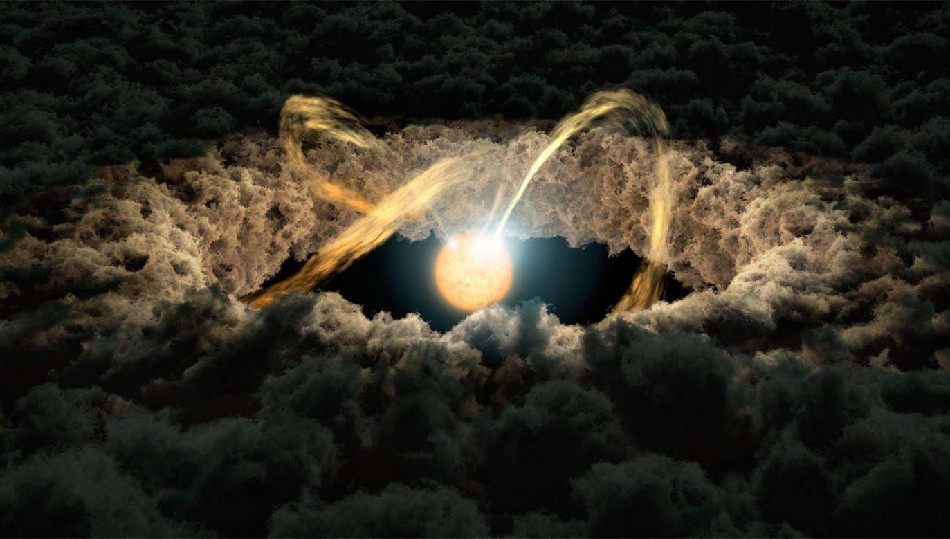 Badanie mas dysków protoplanetarnych dostarczyło dowodów (fot. NASA)