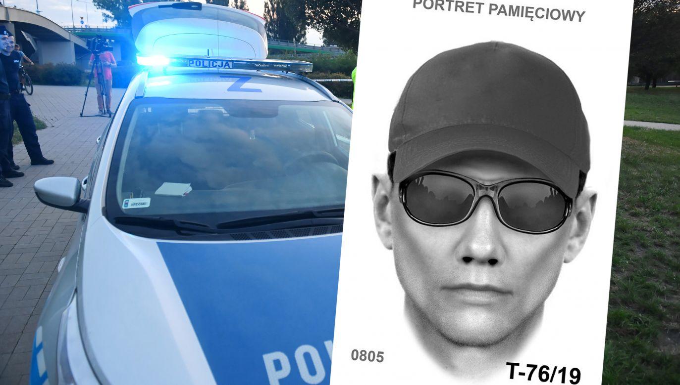 Opublikowano portret pamięciowy sprawcy (fot. arch.PAP/Radek Pietruszka/policja.pl)