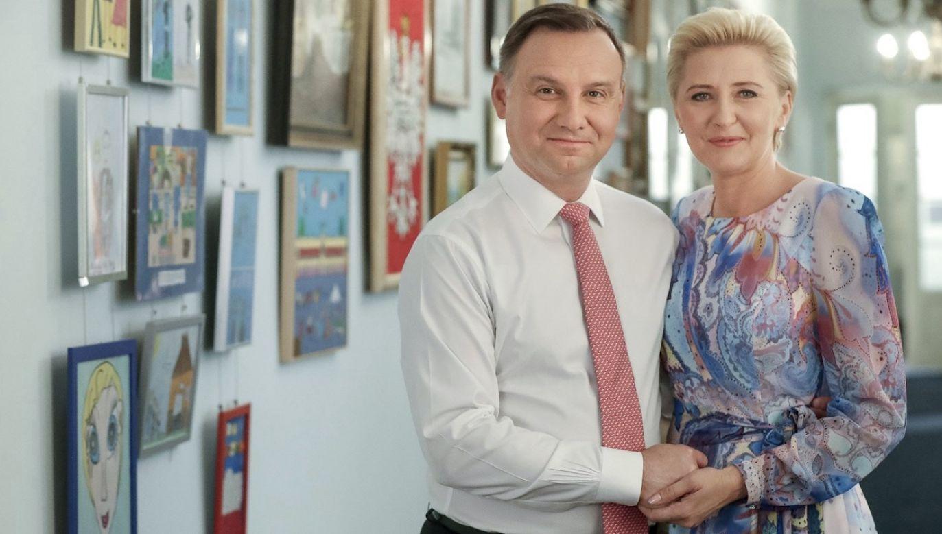 Para prezydencka (fot. Grzegorz Jakubowski/KPRP)