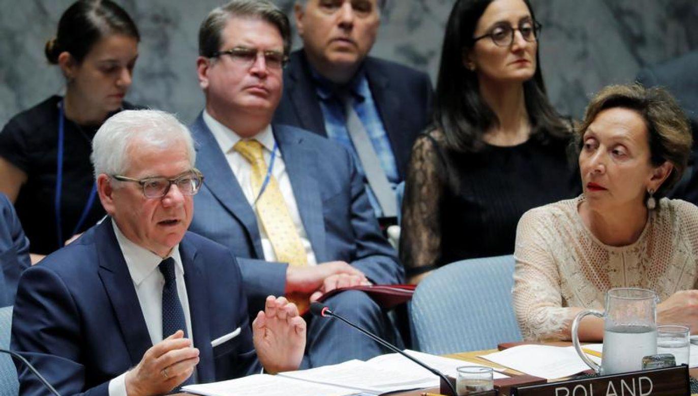 Członkostwo w Radzie Praw Człowieka będzie kontynuacją zaangażowania Polski w Radzie Bezpieczeństwa ONZ (fot. REUTERS/Lucas Jackson)
