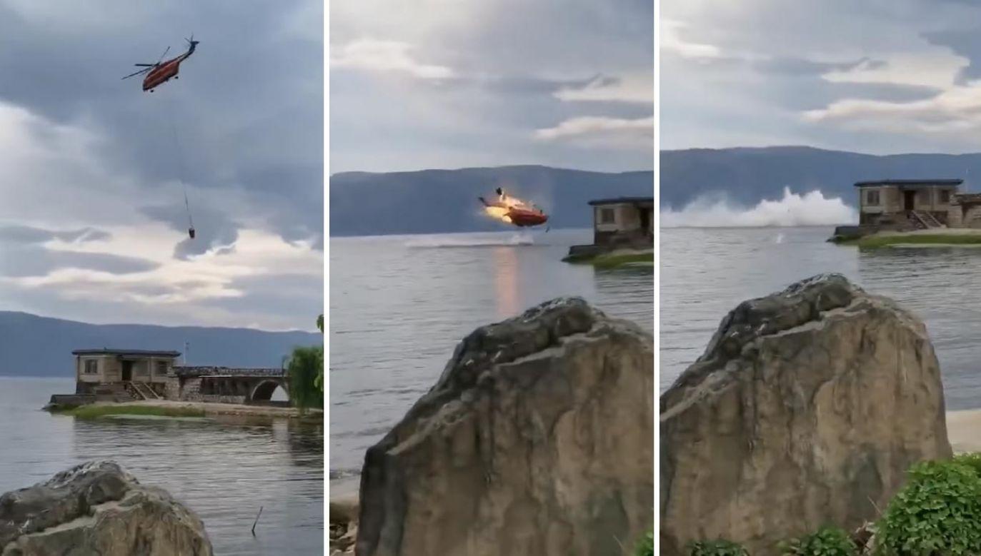 Przyczyna wypadku nie jest znana (fot. TT/ChinaAVReview)