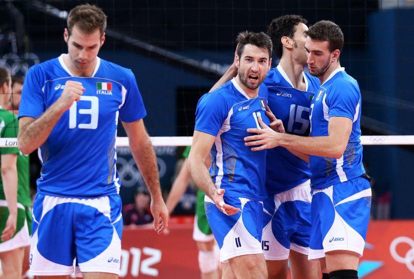 Włosi powetowali sobie igrzyska w Pekinie, w których zajęli czwarte miejsce (fot. PAP/EPA)