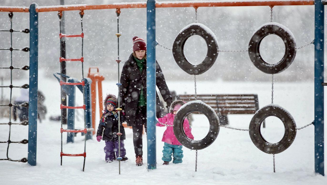 Na północy kraju temperatura może spaść nawet do -18 st. C (fot. PAP/Łukasz Gągulski)