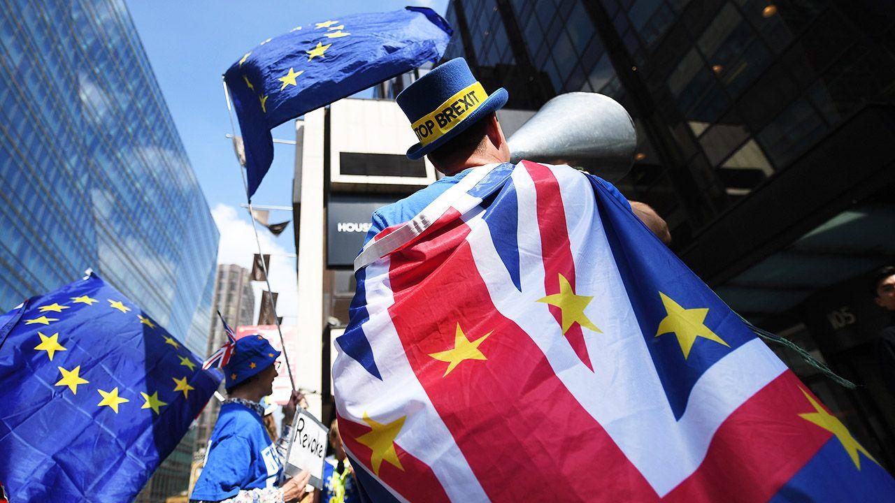 """Jego zdaniem UE powinna wtedy odpowiedzieć na """"kłamstwa"""" w tej kwestii (fot. PAP/EPA/ANDY RAIN)"""