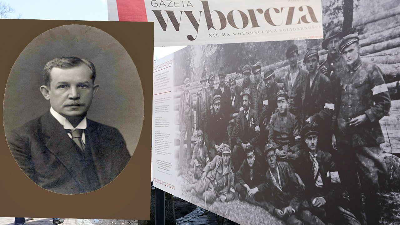"""Nie po raz pierwszy """"Gazeta Wyborcza"""" pisze o górnośląskim zrywie w ten sposób (fot. PAP/Grzegorz Momot; DPA; Shutterstock)"""