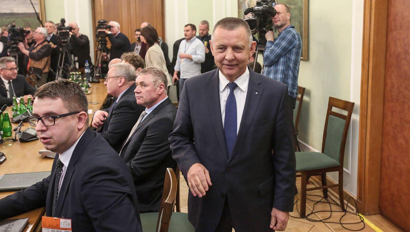 Jestem cały czas do dyspozycji Pana Premiera. Nie kierowano jednak wobec mnie oczekiwań dymisji (fot. PAP/Mateusz Marek)