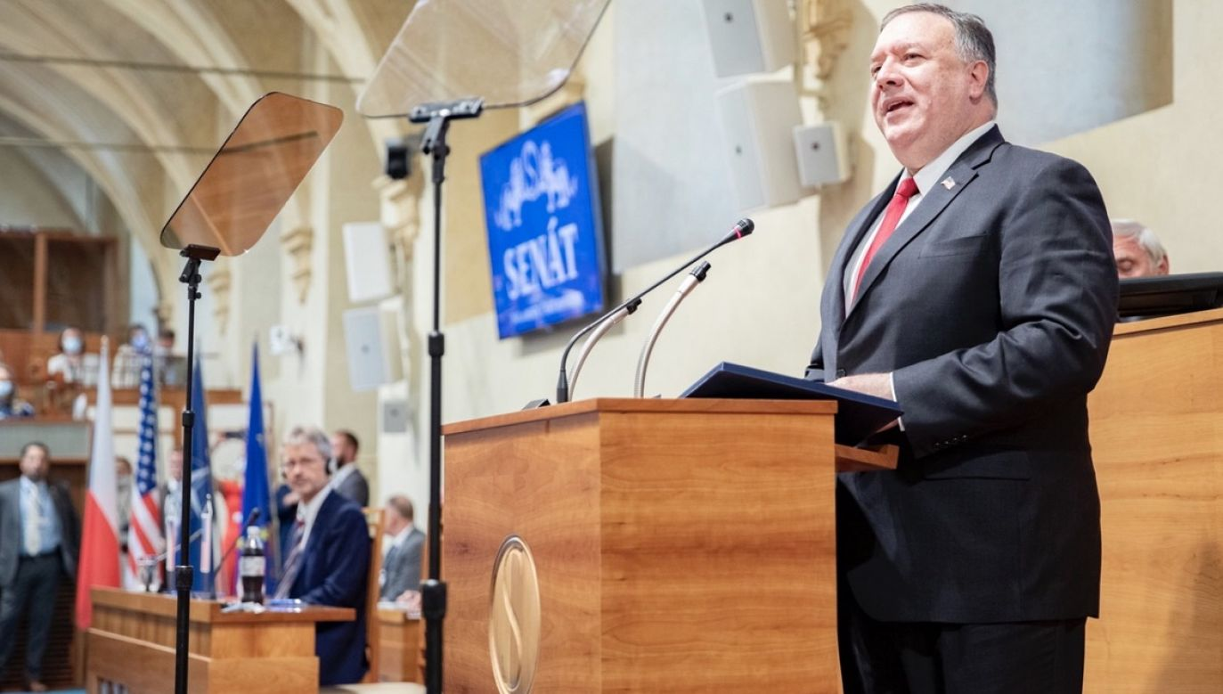 Słowa padły w czeskim Senacie (fot. PAP/EPA/The Senate Chancellery)