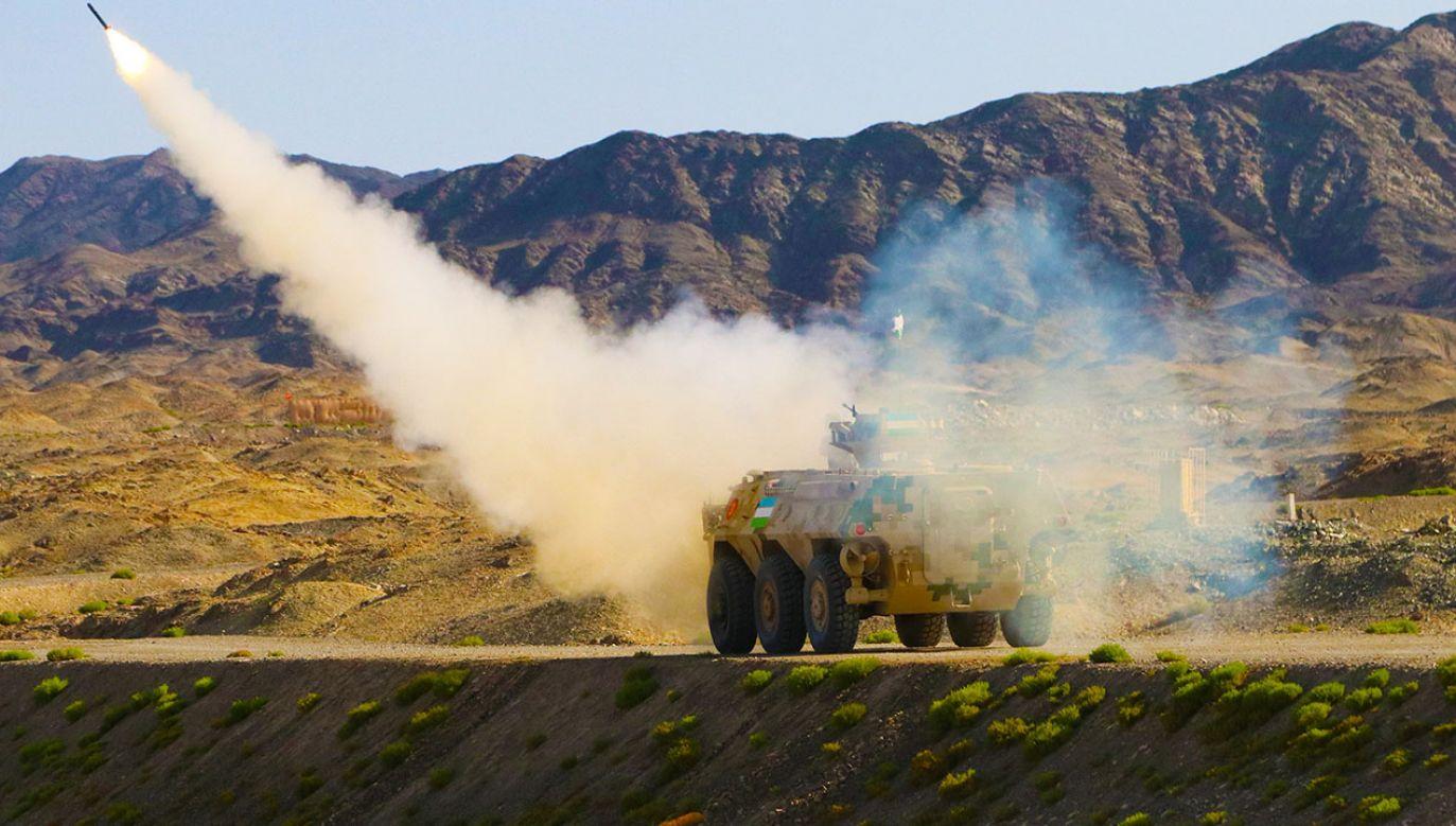 USA mają obawy w związku testami rakietowymi Chin (fot. Wang Xiaojun/China News Service via Getty Images)