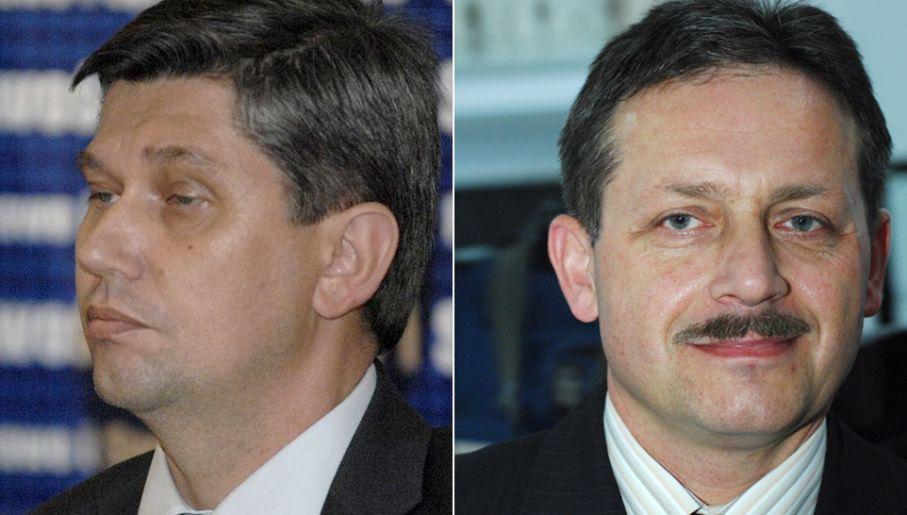 Jarosław Żaczek i Jerzy Rębek (fot. Wikimedia Commons/Ryszard Hołubowicz/lublin.com.pl/ arch. PAP/Jacek Turczyk)