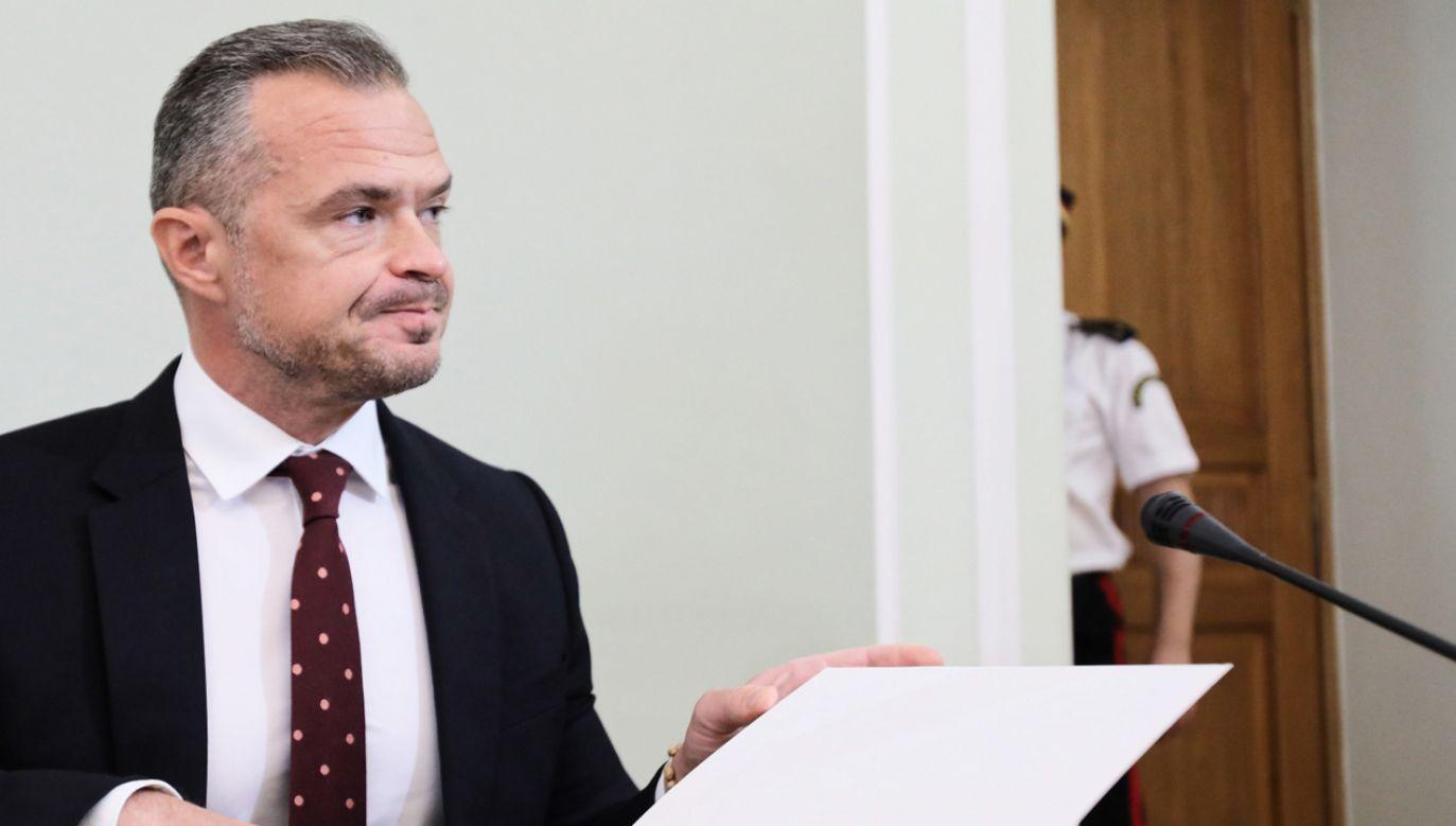Były sekretarz stanu w KPRM i szef Gabinetu Politycznego Prezesa Rady Ministrów Sławomir Nowak