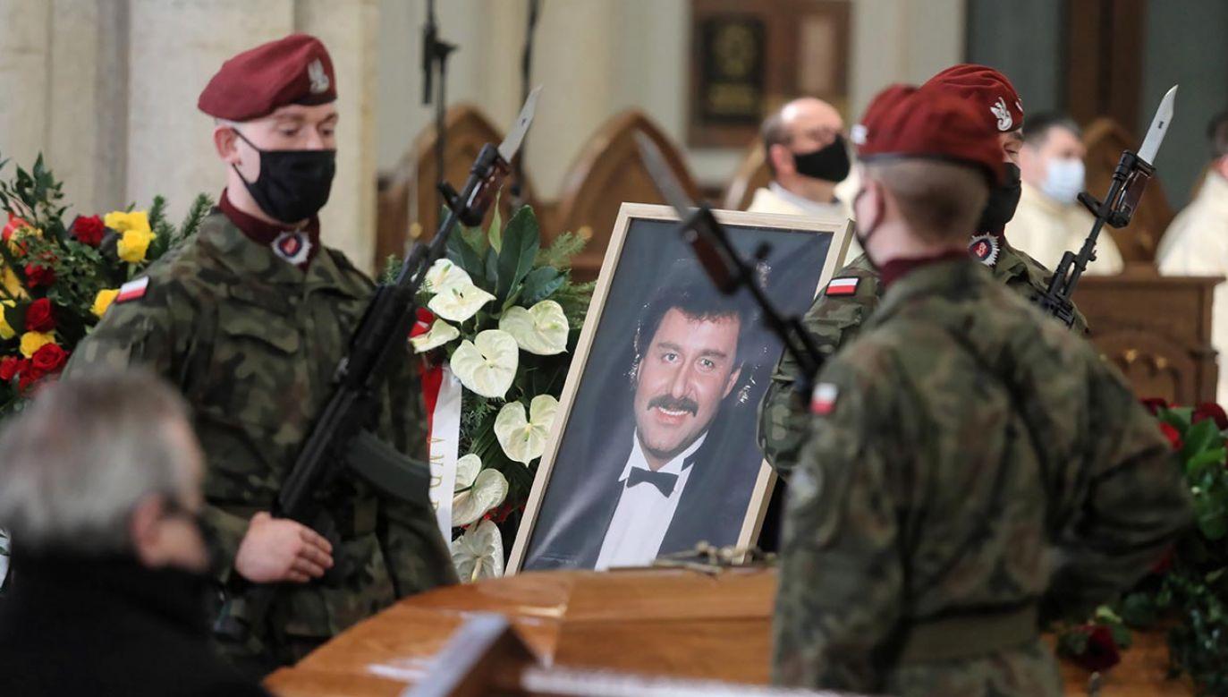 Krawczyk zmarł w wieku 74 lat (fot. PAP/Roman Zawistowski)