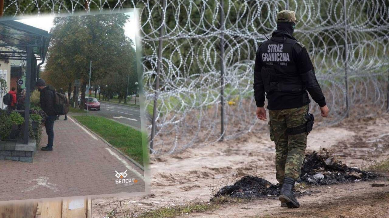 """Białoruś prowadzi operację """"Śluza"""" wymierzoną w kraje UE (fot. Maciej Luczniewski/NurPhoto via Getty Images/Biełsat)"""