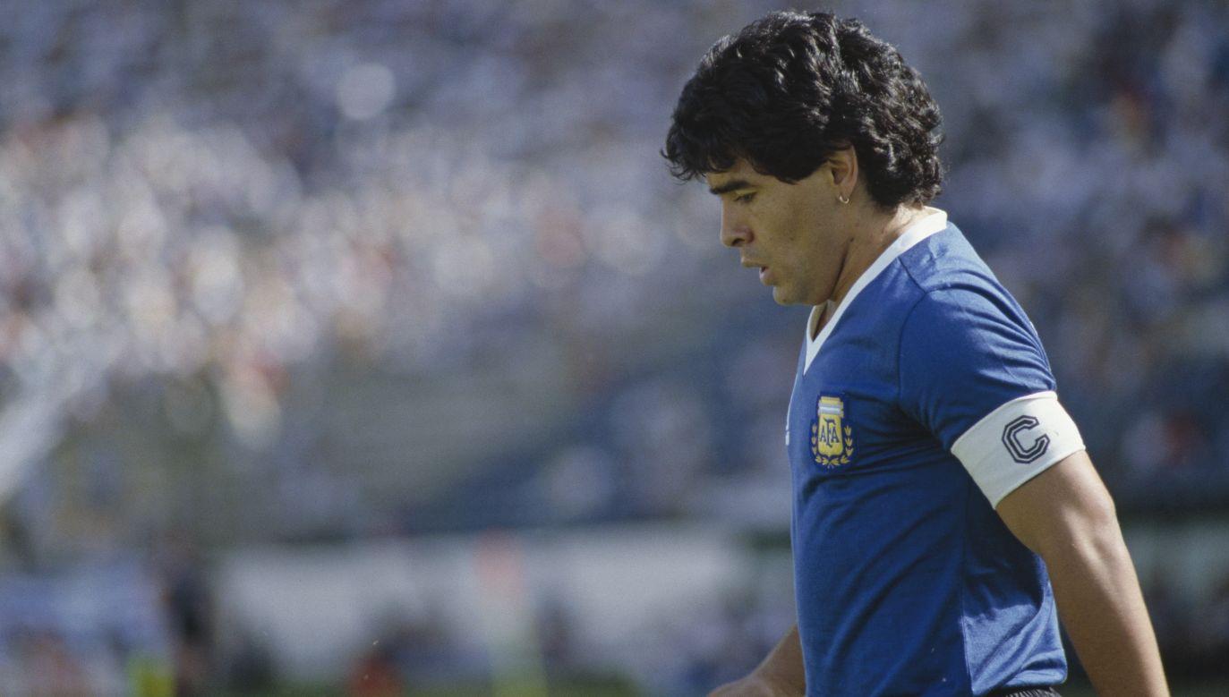 Diego Maradona poprowadził reprezentację Argentyny do dwóch finałów mistrzostw świata (fot. Jean-Yves Ruszniewski/Getty)