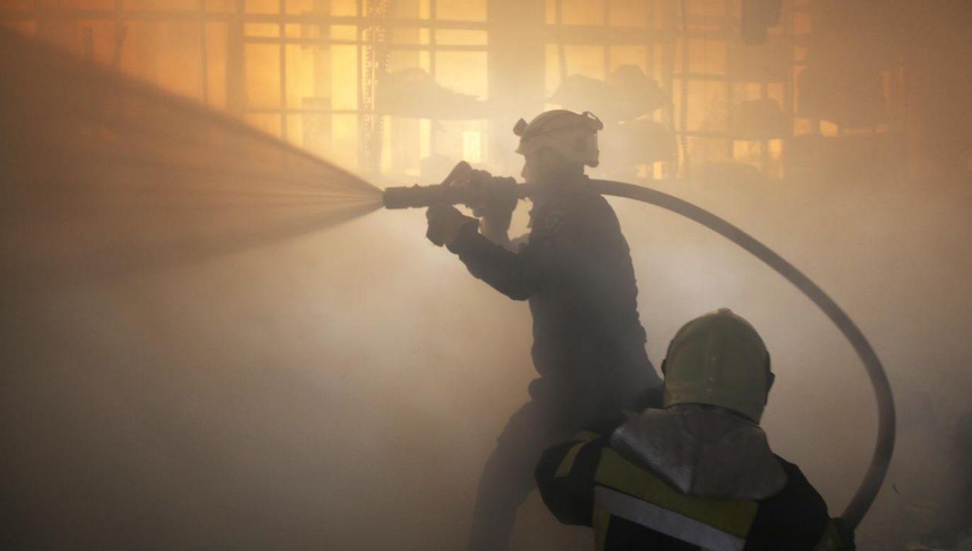 Na miejscu w chwili wybuchu przebywało 17 osób (fot.  Ekrem Masry/Anadolu Agency/Getty Images, zdjęcie ilustracyjne)