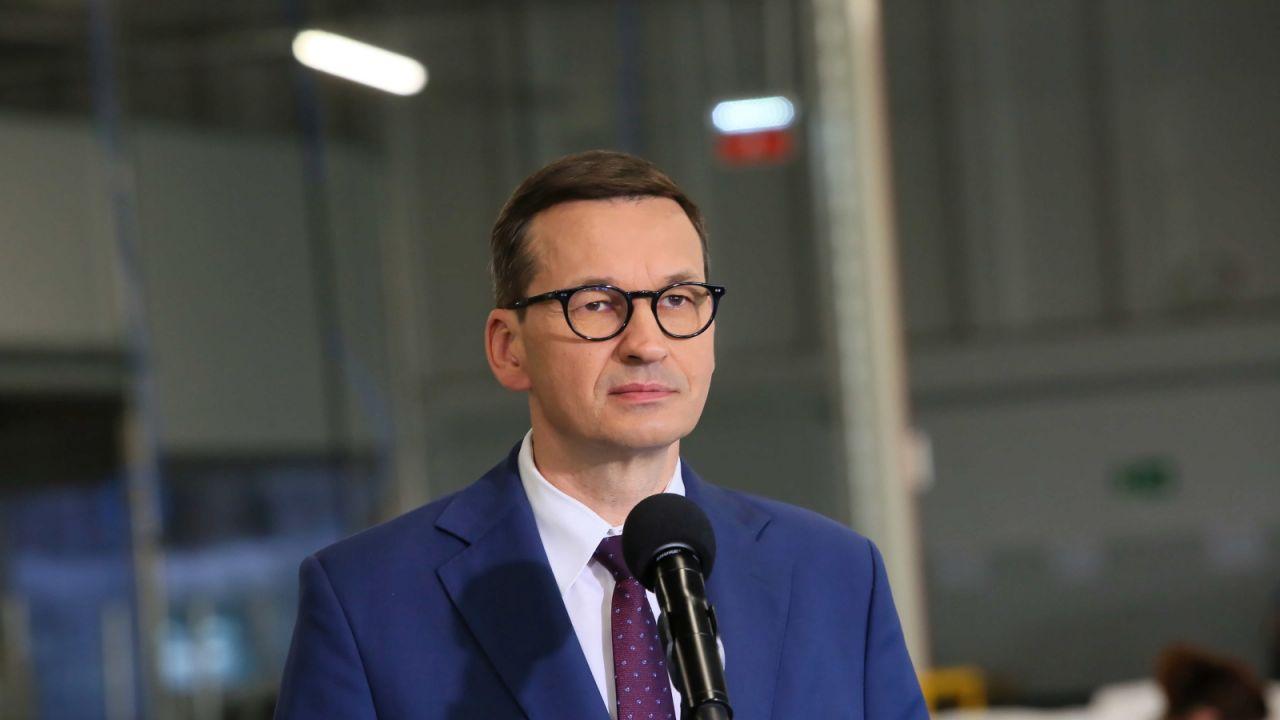 Prezes Rady Ministrów Mateusz Morawiecki (fot. PAP/Tomasz Wojtasik)