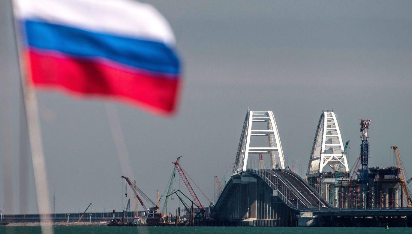 Most łączący Krym z Rosją (fot. Sergei Malgavko\TASS via Getty Images)