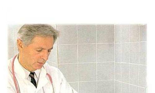 Badanie pierwszego pacjenta w nowo otwartej klinice UDSK (1992). Fot. archiwum MK