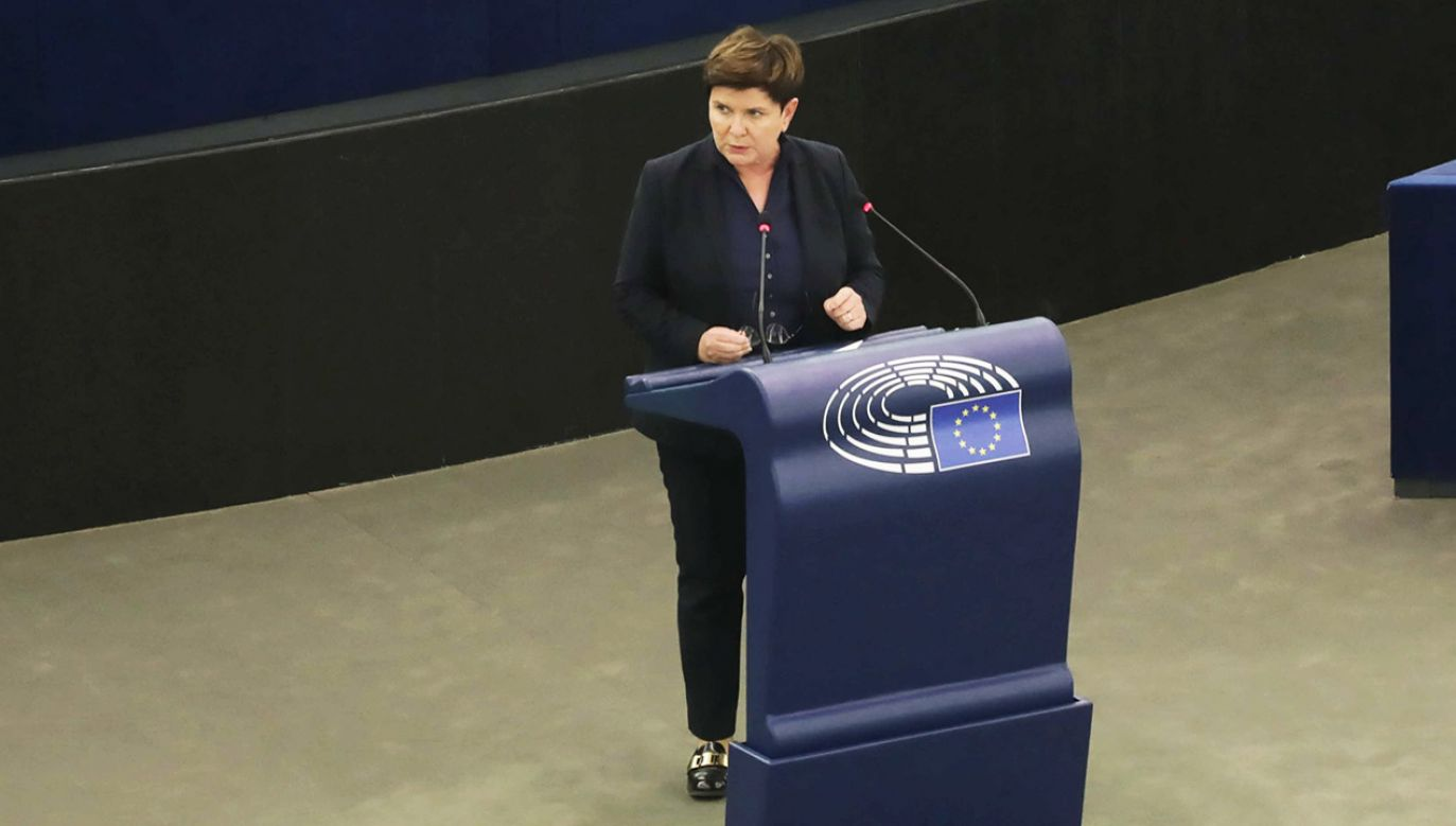 Eurodeputowana, była premier Beata Szydło (fot. PAP/A.Zawada)
