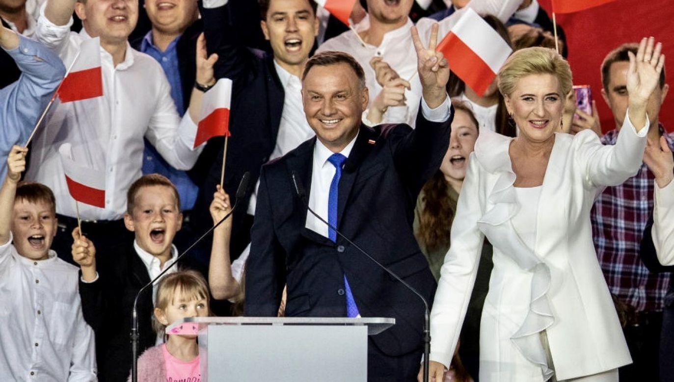Andrzej Duda zdobył ponad 51 proc. głosów w odbywającej się wczoraj II turze wyborów prezydenckich (fot. Maja Hitij/Getty Images)