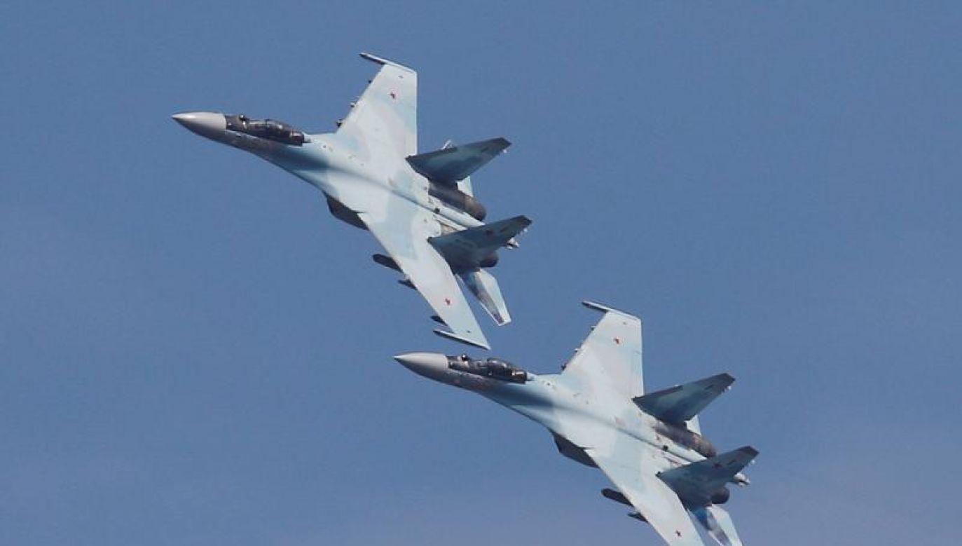 Według Seulu rosyjski samolot wleciał w przestrzeń Korei Płd. nad wyspami Dokdo (fot. REUTERS/Maxim Shemetov)