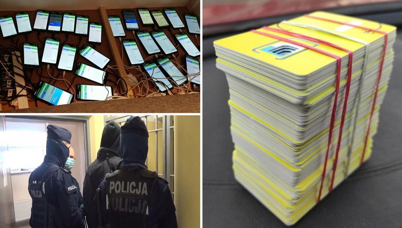 Internetowi przestępcy oszukali kilkaset osób na ponad 1,5 mln zł (fot. Policja)