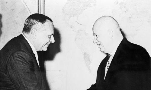 Z Nikitą Chruszczowem w 1961 roku. Fot. Getty Images/Bettmann