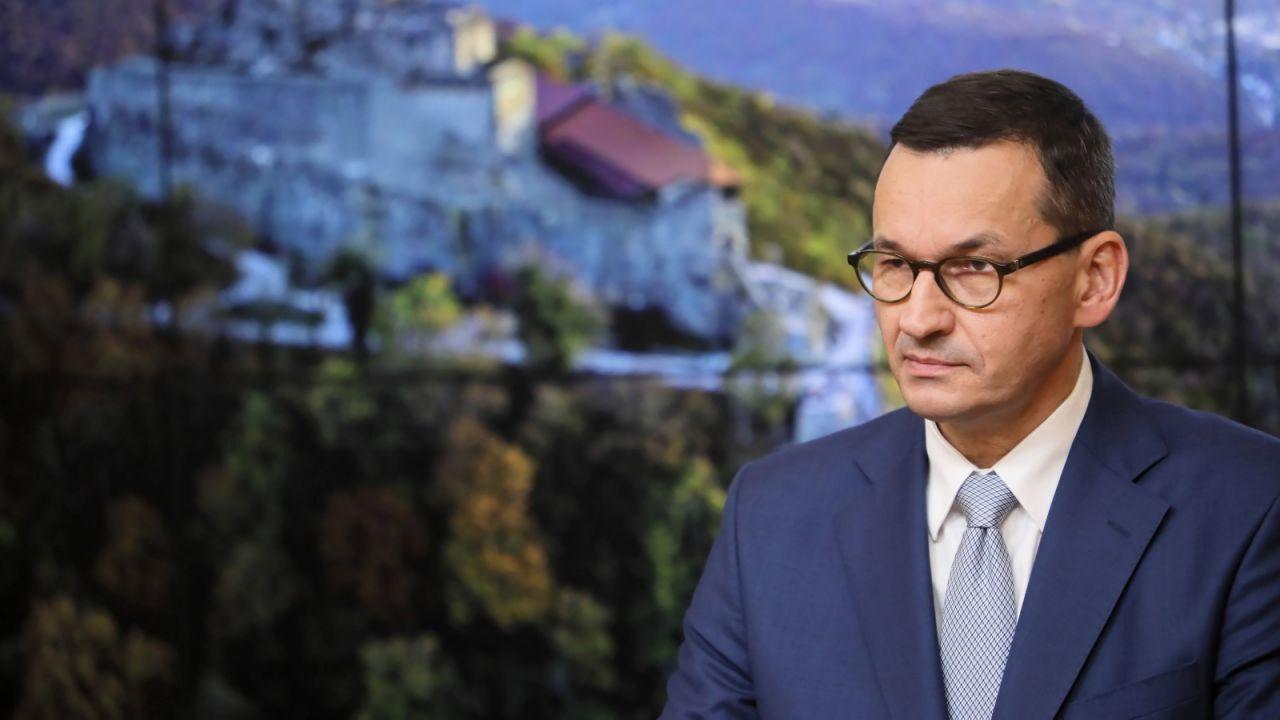 – Brak mi słów, by potępić taką wypowiedź – mówi Mateusz Morawiecki (fot. PAP/Leszek Szymański)