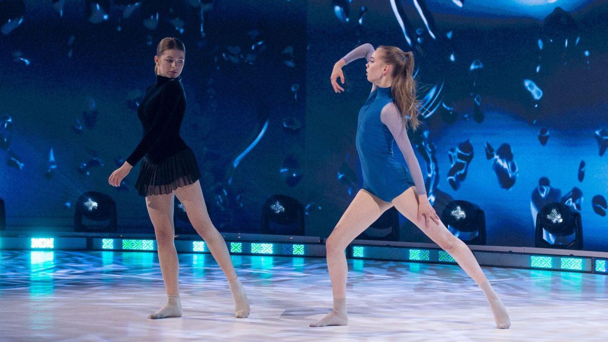 W kolejnym improwizowanym tańcu zaprezentowały swoje umiejętności Jagoda i Julia (fot. Jan Bogacz)