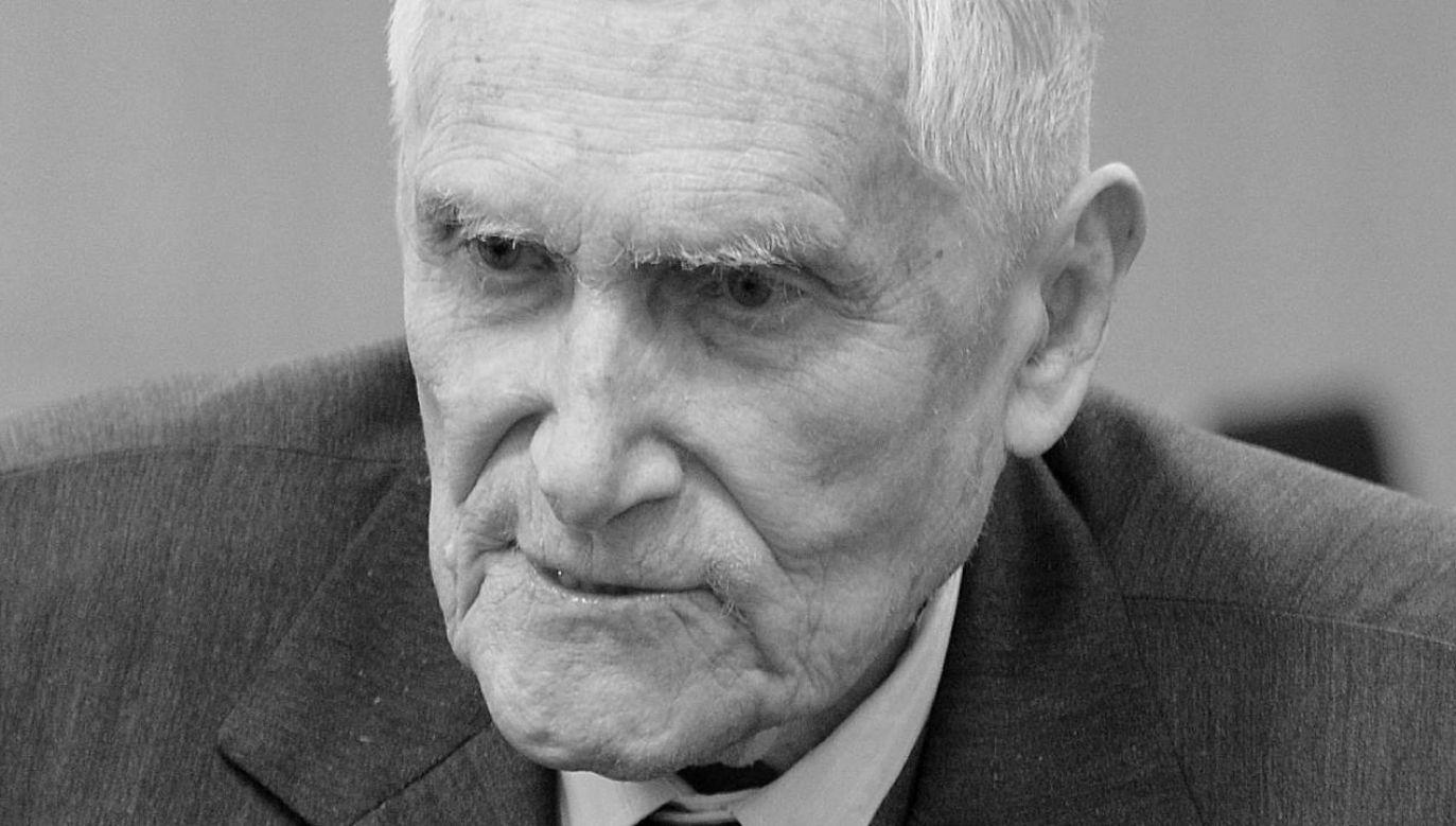 Prof. Witold Kieżun zmarł w wieku 99 lat (fot. Wikimedia Commons/Adrian Grycuk)