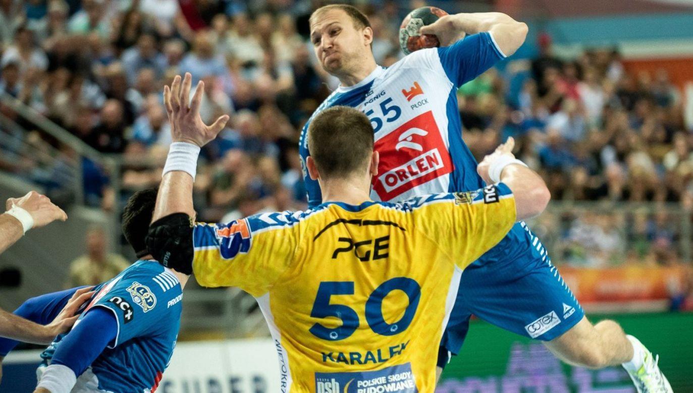 (fot. PGNiG Superliga / Grzegorz Trzpil)
