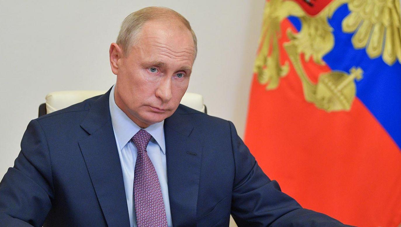 """Protestujący skandowali: """"nie chcemy wiecznego Putina"""" (fot. Alexei Druzhinin\TASS via Getty Images)"""