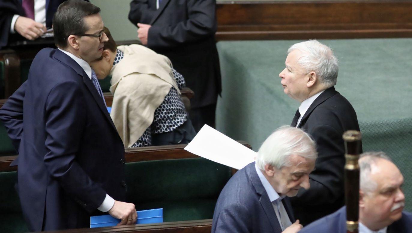 Posłowie przyjęli 32 poprawki z 81 uchwalonych przez Senat (fot. PAP/Leszek Szymański)
