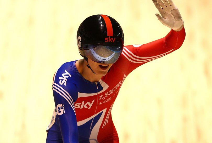 Victoria Pendleton zdobyła w Melbourne swój dziesiąty złoty medal MŚ (fot. Getty Images)
