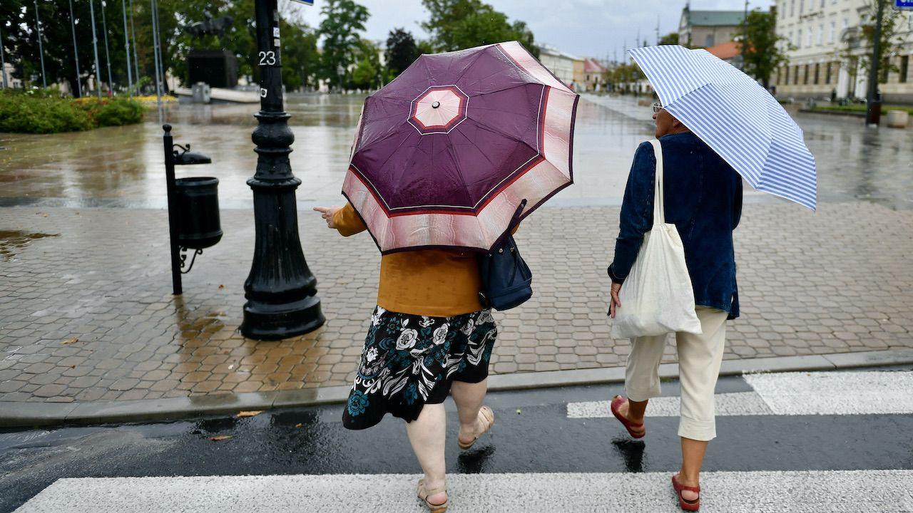 IMGW ostrzega przed burzami (fot. arch.PAP/W.Jargiło)