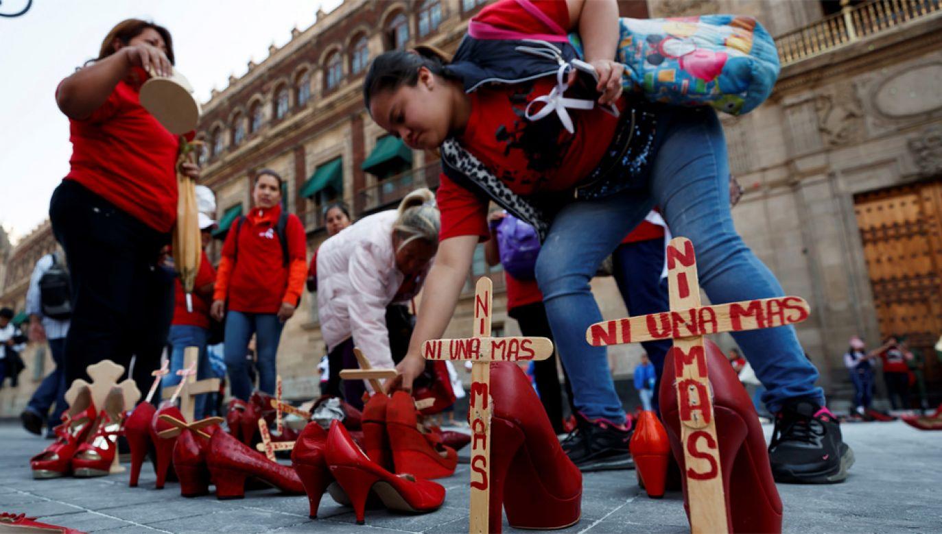 Kobiety domagają się od władz zajęcia się problemem (fot. PAP/EPA/José Méndez (es-ES)