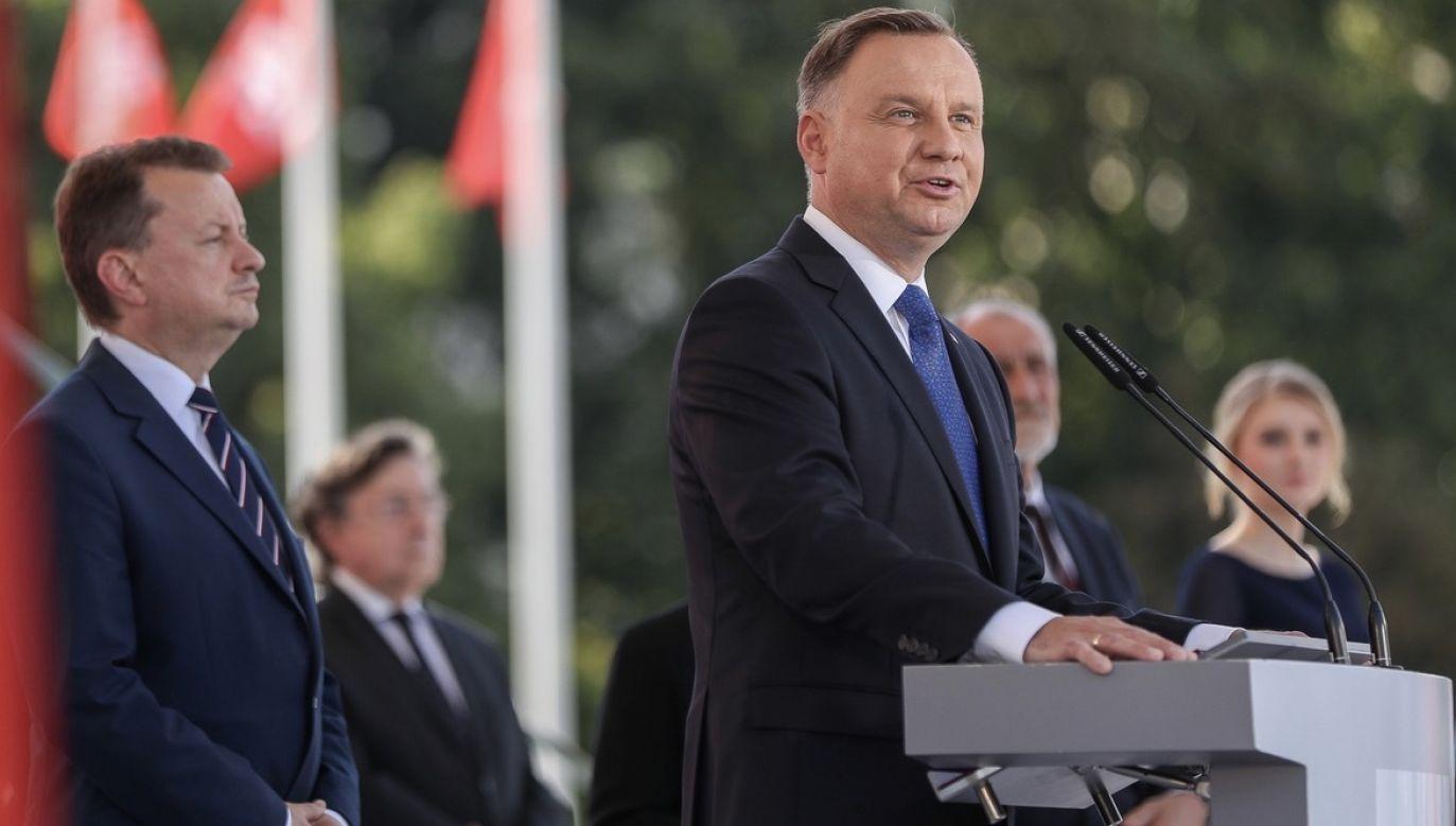 Jak podkreślał prezydent, wielu ludzi poczuło się porażonych sytuacją (fot. Grzegorz Jakubowski/KPRP)