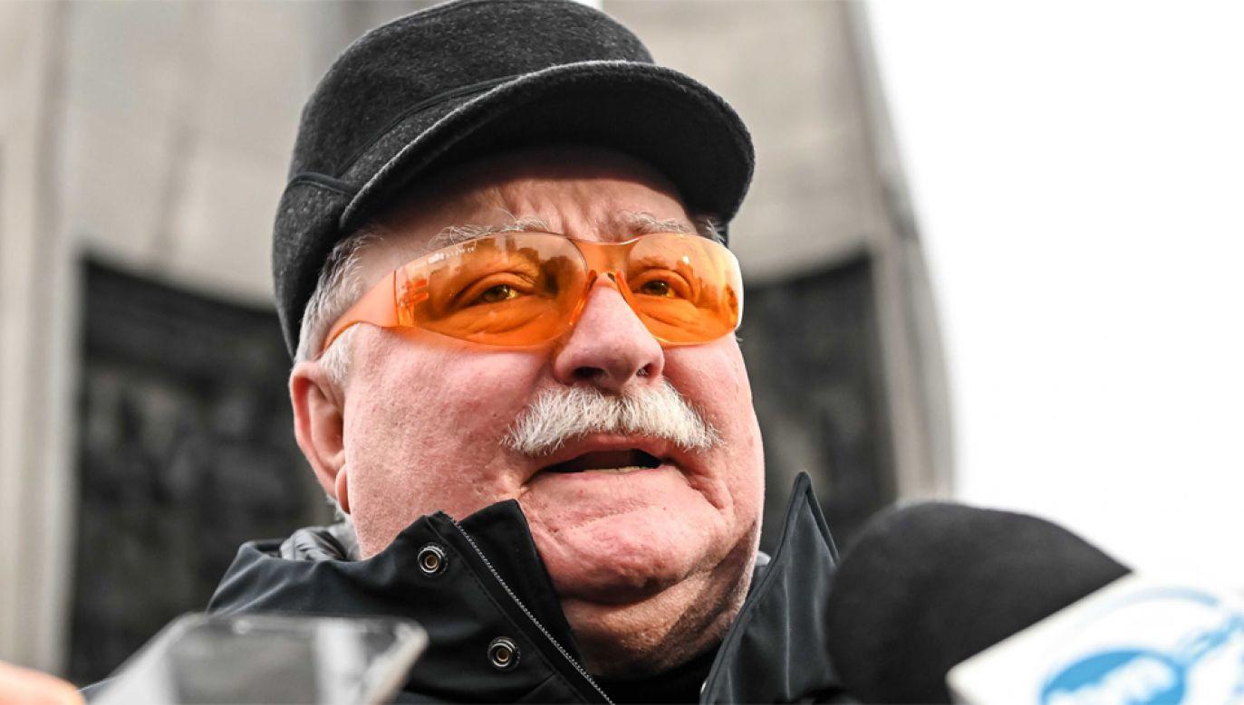 Lech Wałęsa krytykuje reformę sądownictwa (fot. PAP/Jan Dzban)