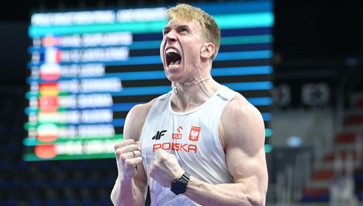 Piotr Lisek w ostatniej próbie wywalczył awans do olimpijskiego finału (fot. Getty Images)