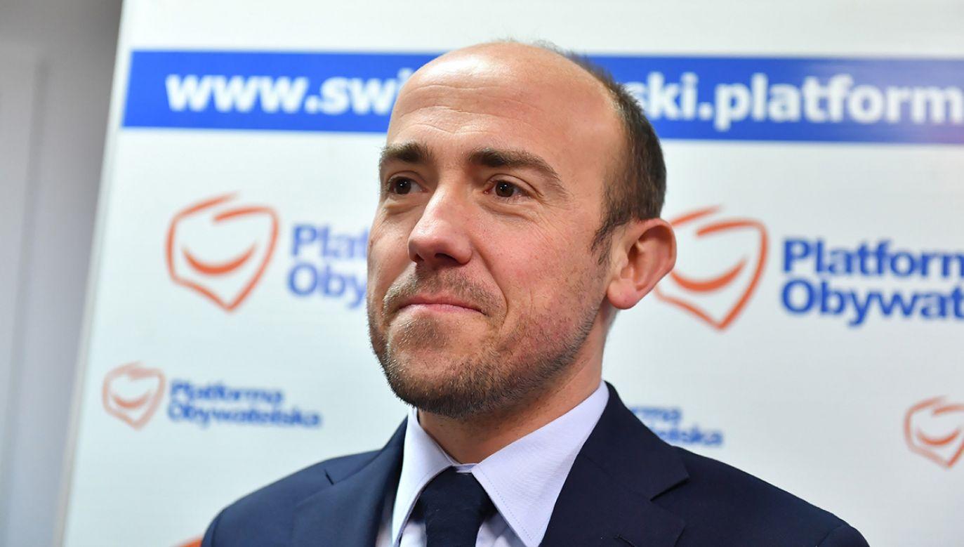 Borys Budka jest faworytem wyborów na szefa Platformy Obywatelskiej. (fot. PAP/Piotr Polak)