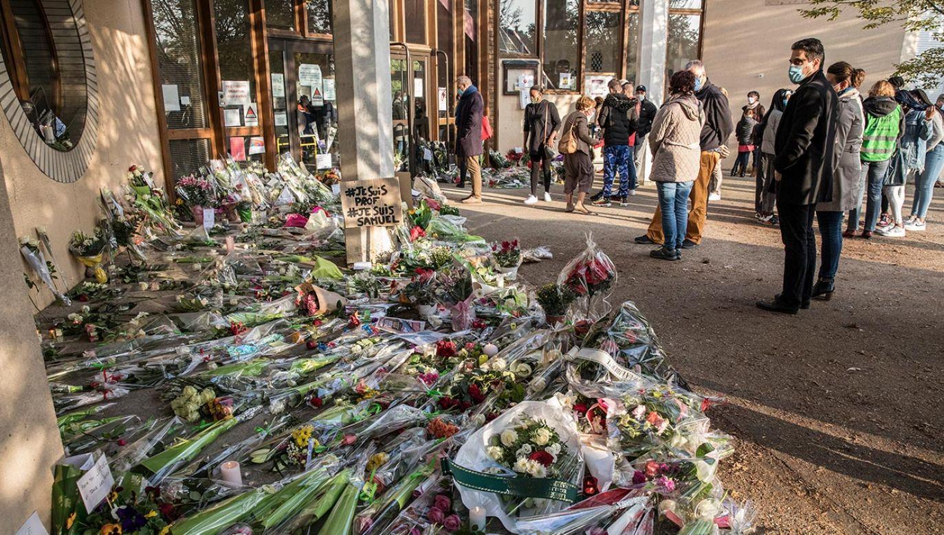 Sam zabójca został zastrzelony przez policję w dzień mordu na nauczycielu (fot. Siegfried Modola/Getty Images)