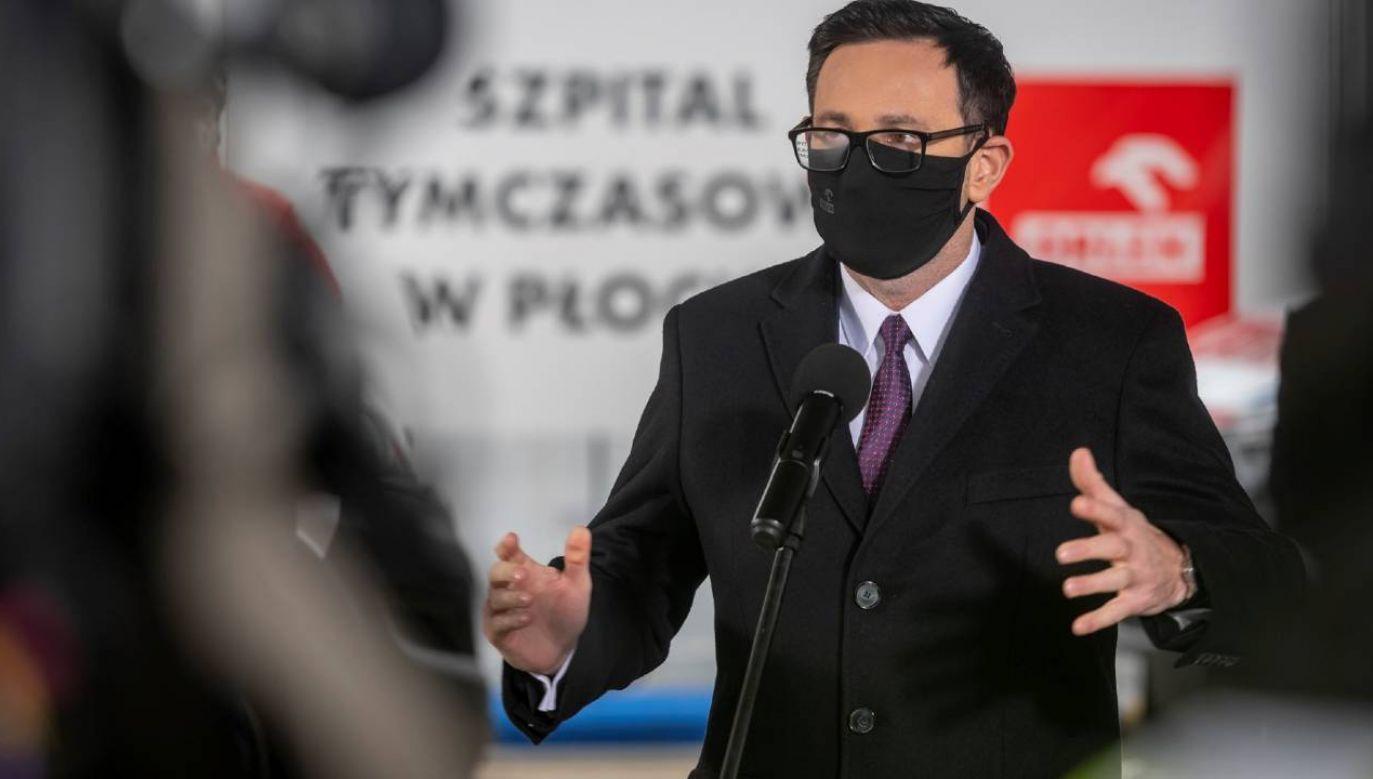 Orlen zamierza dalej kierować Polska Press. Na zdjęciu prezes Daniel Obajtek (fot. PKN Orlen)