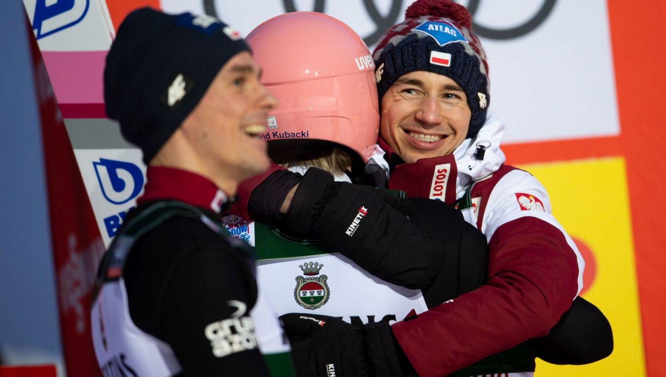 Kamil Stoch (P) tęskni za skokami w Kuopio (fot. Getty)
