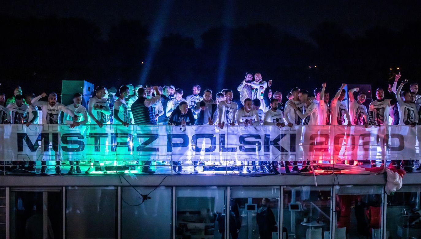 Legia Warszawa: mistrzowie Polski 2020 (fot: Getty)