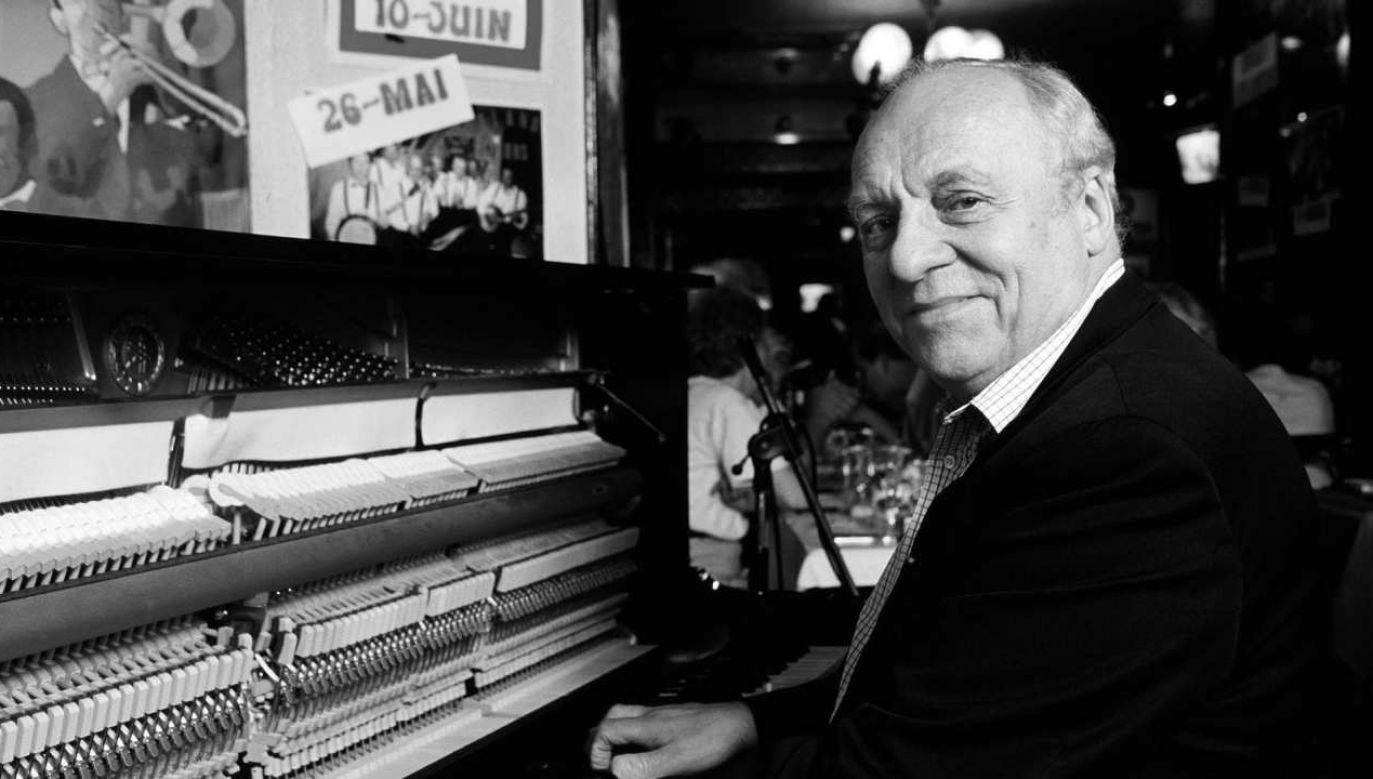Claude Bolling  zmarł w wieku 90 lat (fot. Christian DUCASSE / Gamma-Rapho via Getty Images)